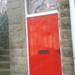 Post Box Red Door
