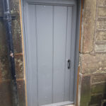 pre industrial door small